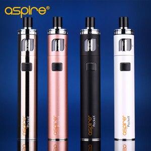 Image 5 - Elektronische Sigaret Aspire Pockex Aio 2Ml Starter Kit Met 1500Mah Ingebouwde Batterij E Waterpijp Vape Pen gebruik 0.6ohm 1.2ohm Coils
