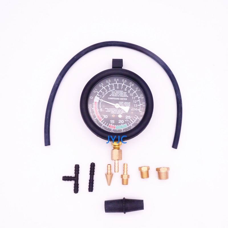 Automotive Engine Vacuum Gauge Intake Manifold Negative Pressure Detection Car Repair Diagnostic Tools TU 1-in Pressure & Vacuum Testers from Automobiles & Motorcycles