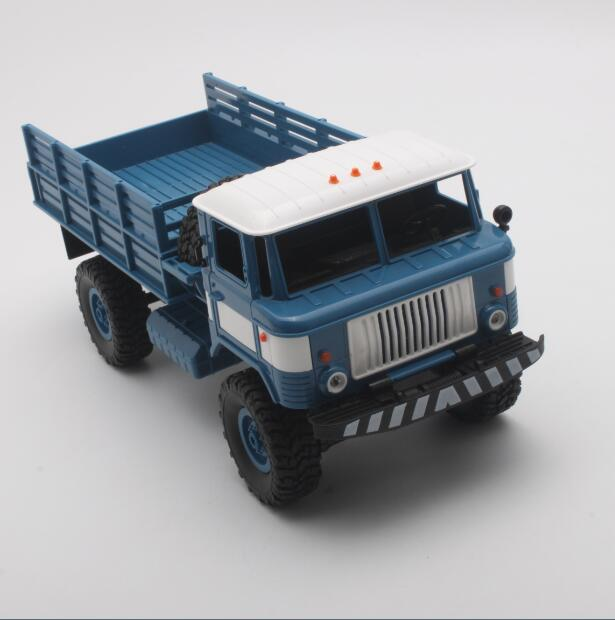 WPL B-24 1:16 RC Climbing Military Truck Mini 2.4G 4WD Off-Road RC Trucks Off-Road Racing Car RC Vehicles RTR Gift Toy