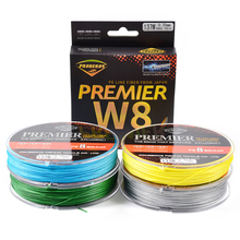 137M 8 Weaves Fishing Line Green / Grey /Yellow/Blue 8 Braided Fishing Line Available 10LB-150LB PE Line Orange Package