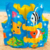 Para Niños de 3-5 Años de Edad Los Niños de Dibujos Animados Lindo Chaleco Forma Flotante de Natación Niños Piscina Inflable de Seguridad Auxiliar Accesorios A005