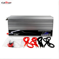 Pure Sine Wave Inverter 6000w 12V 220V Converter Car Power Inverter with USB For Solar/wind/ PowerT12P6000 2