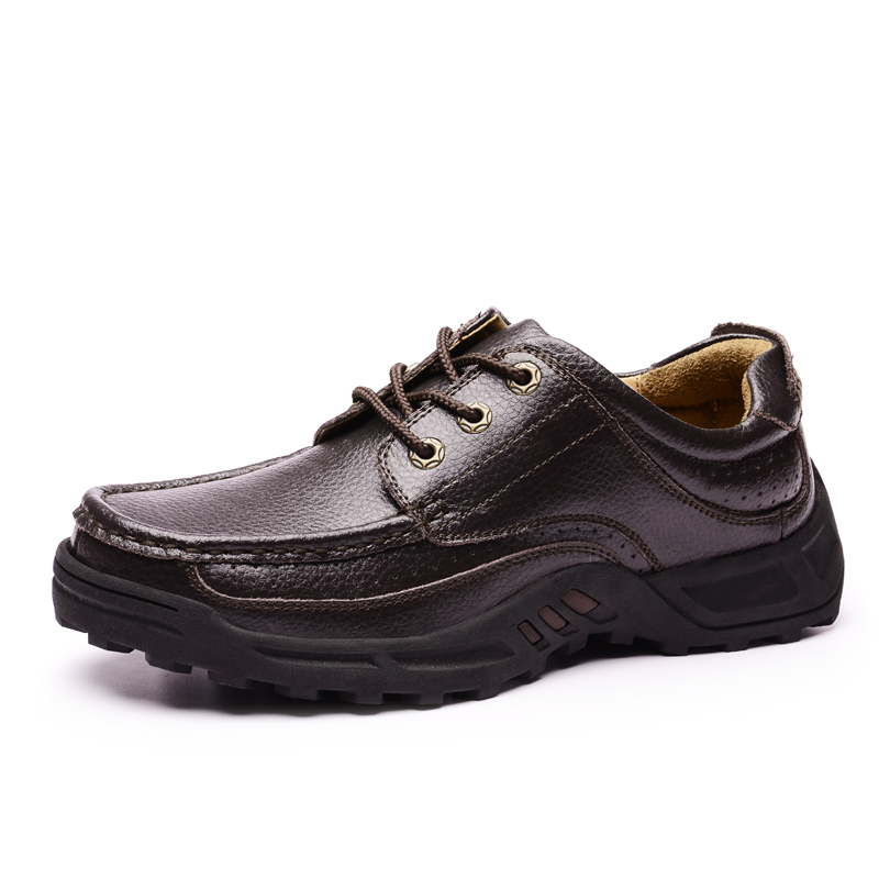 נעלי דירות עור של