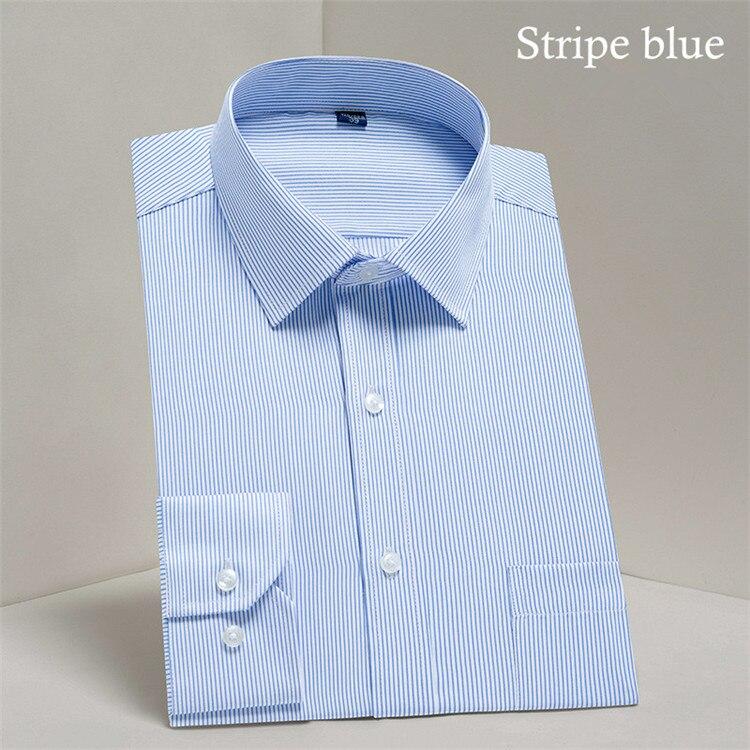 HTB1eL.tj5MnBKNjSZFoq6zOSFXar - 2019 Men Dress Shirt Long Sleeve Slim Brand Man Shirts