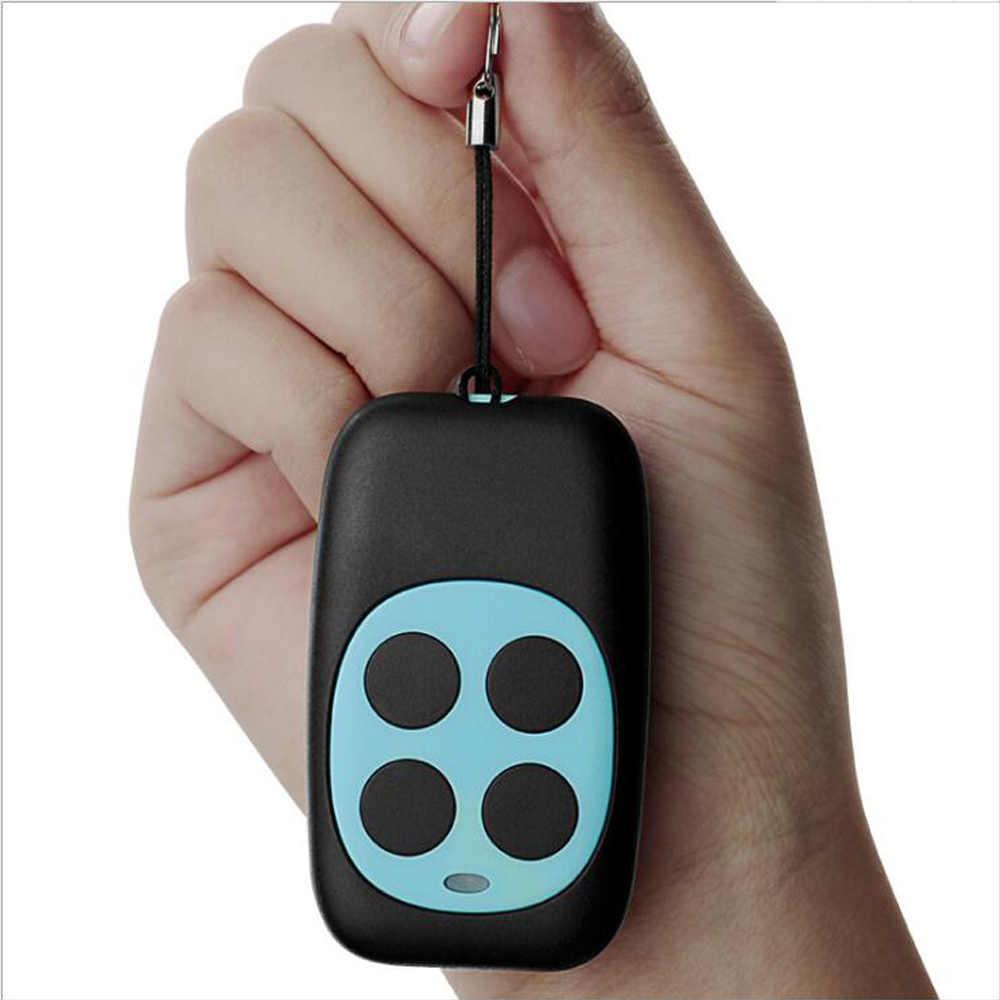 Universale 433 mhz Duplicatore di Controllo Automatico A Distanza Regolabile Portachiavi con la Batteria per Auto di Allarme Del Motociclo È VENUTO TOP434NA