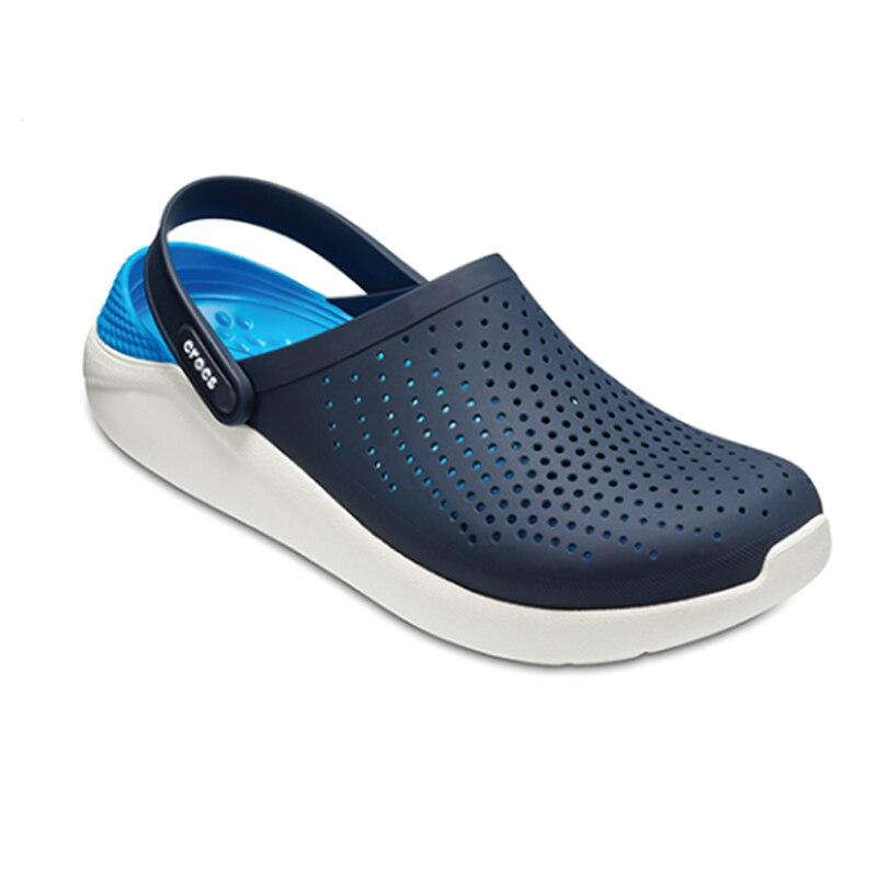 CROCS summer new LiteRide Clog men's outdoor beach sandals lightweight soft shoes men's shoes new sp