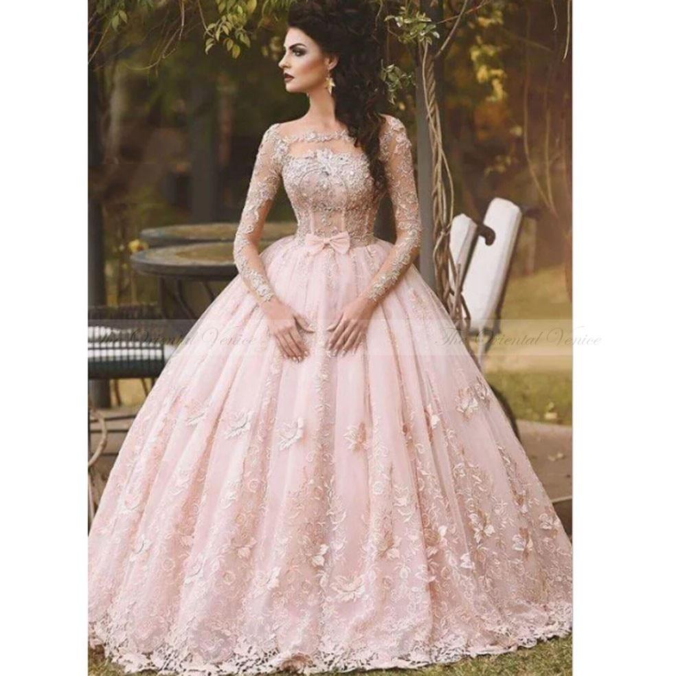 Popular Pink Princess Wedding Dresses-Buy Cheap Pink Princess ...