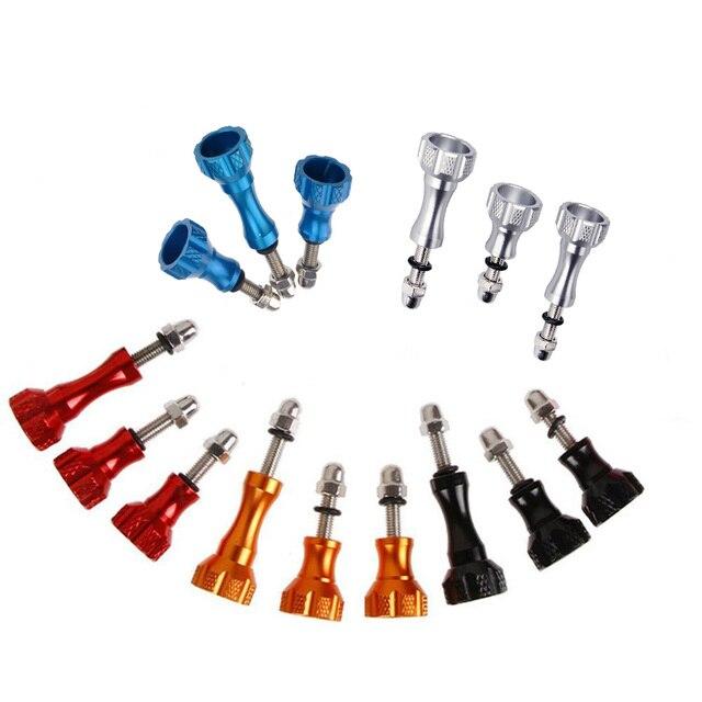 Kaliou аксессуары для камеры 1 длинный + 2 короткий цветной Thuss алюминиевый болт гайка Винт для Gopro 6 5 4 3 + 2 1 SJ4000 XIAOYI 2 4K