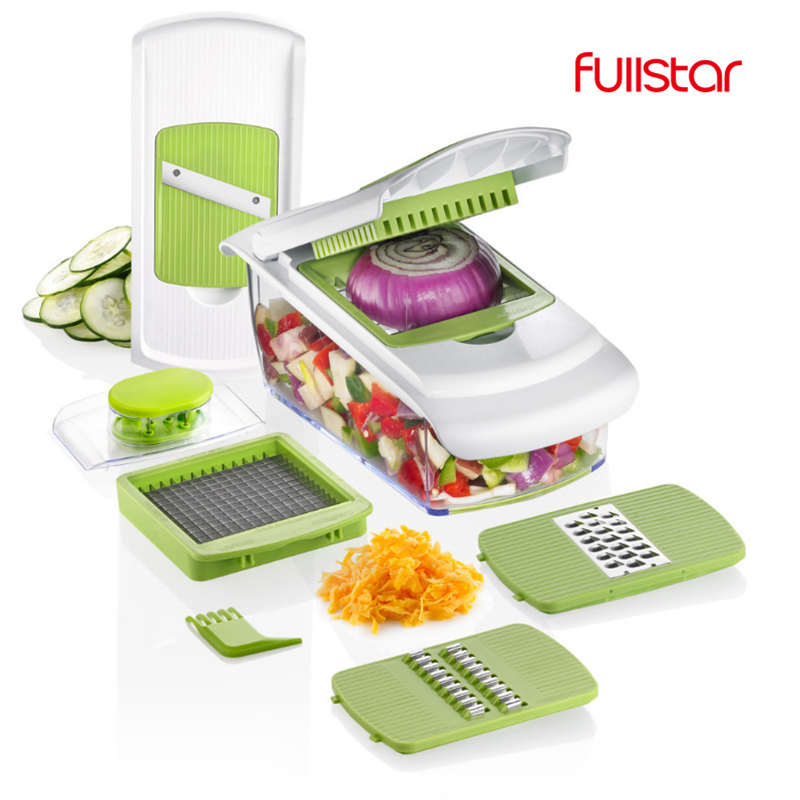 Kitchen Accessory Mandoline Slicer Knife Food Chooper Vegetable Cutter Peeler, Slicer,Grater Kitchen Tool With 7 Dicing Blades