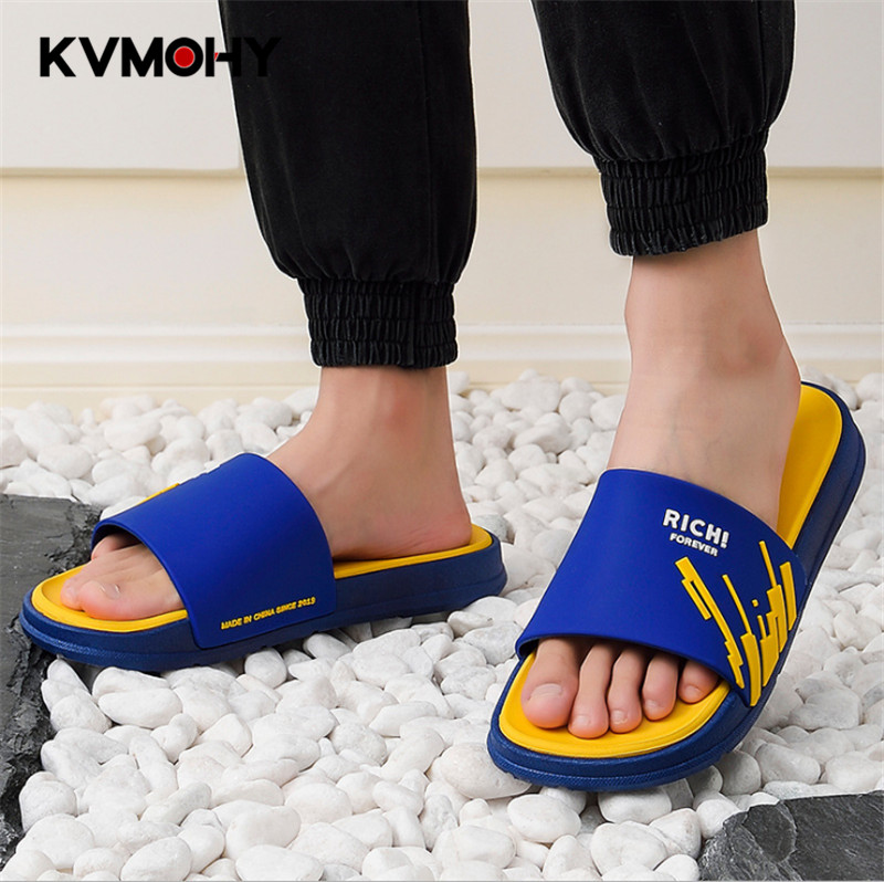 Men Shoes Flat Fashion Summer Slippers Male Home Slipper Fashion Outdoor Unisex Flip Flops Casual Couple Beach Sandals Slides