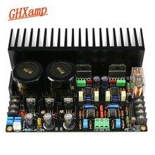 GHXAMP LM3886 Amplifier Audio Board JRC5534DD Op amp Full DC Servo Circuit LM317 LM337 Regulator C1237 Speaker Protection 68W*2