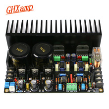 Ghxamp lm3886 amplificador placa de áudio jrc5534dd op amp completo dc servo circuito lm317 lm337 regulador c1237 proteção de alto falante 68w * 2