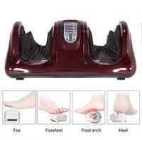 Шиацу массажер для ног терапевтический разминание и прокатки массажные устройства с удаленными для ухода за ногами