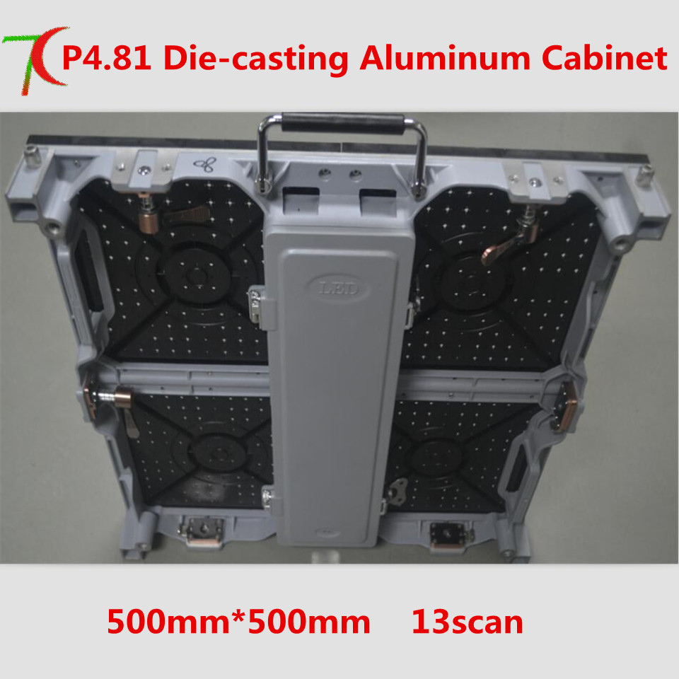 P4.81 die-casting aluminum cabinet  for rental , SMD,13scan,43624dot/sqmP4.81 die-casting aluminum cabinet  for rental , SMD,13scan,43624dot/sqm