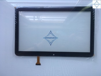 new 10.1'' inch  tablet Touch Screen Digitizer capactive panel glass lens DP101391-F1 DP101391 F1 247*156mm