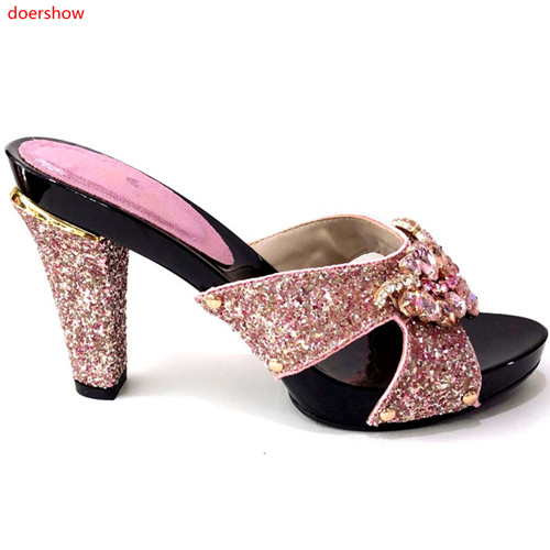 doershow New Arrival PINK African Style Sandal Woman Shoes Comfortable Crystal Heels Pumps Free Shipping !HLM1-25doershow New Arrival PINK African Style Sandal Woman Shoes Comfortable Crystal Heels Pumps Free Shipping !HLM1-25