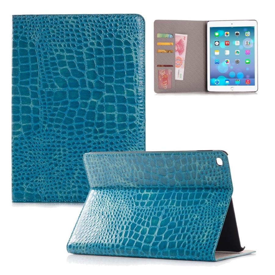 Coque for iPad Pro Case Crocodile Pattern Lightweight Flip PU Leather Case forApple iPad Pro 12.9 Protective Cover 7Colors leather case flip cover for letv leeco le 2 le 2 pro black