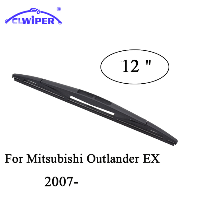"CLWIEPR Rear Wiper Blades For MITSUBISHI OUTLANDER EX(2007-) 2008 2010 20112012 Rear Windscreen Wiper Windshield Wiper Blade 12"""