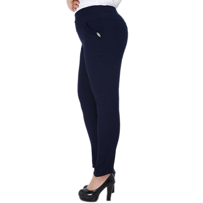 6XL Pants for women 2018 Fashion Big size Full-length High Elastic Trousers Women Pants Fat MM Pencil Pants Clothes For Female Price $12.64