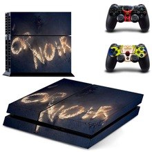 PS4 Skin Stickers Decal For Playstation 4 +2 Controllers Skin