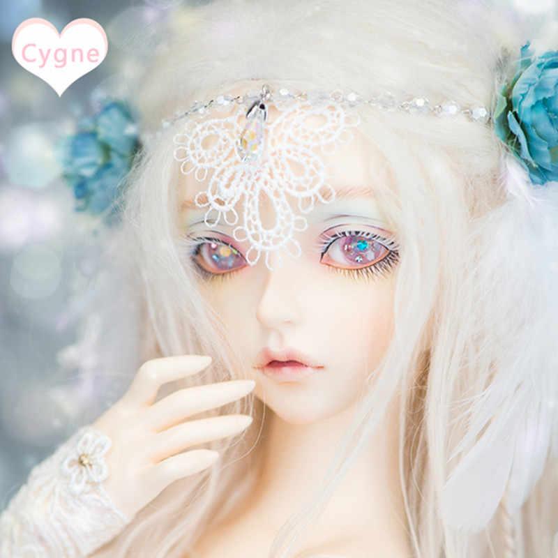 Enviar olhos da boneca BJD boneca SD 1/4 ponto menina minifee boneca da junção de Cygne