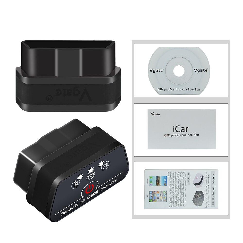 HTB1eL2sbBSD3KVjSZFqq6A4bpXaB Vgate iCar 2 ELM327 Wifi/Bluetooth OBD2 Diagnostic Tool for IOS iPhone/Android Icar2 Bluetooth wifi ELM 327 OBDII Code Reader