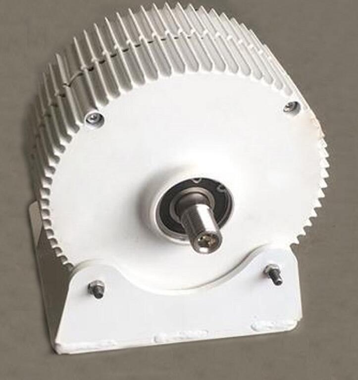 400W AC Permanent Magnet Generator Alternator 12V 24V PMG With Mounting Base