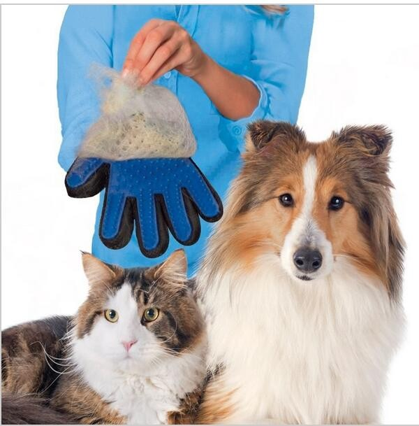 Amazing <font><b>Deshedding</b></font> Glove <font><b>Tool</b></font> <font><b>Pet</b></font> Grooming for Remove Cat <font><b>Dog</b></font> Dirt Hair Dander Five Finger <font><b>Deshedding</b></font> Glove
