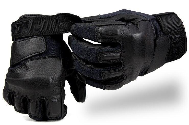 Chasse en cuir en plein air en cuir gants tactiques hommes escalade protection hommes armée tir anti-dérapant gants tactiques