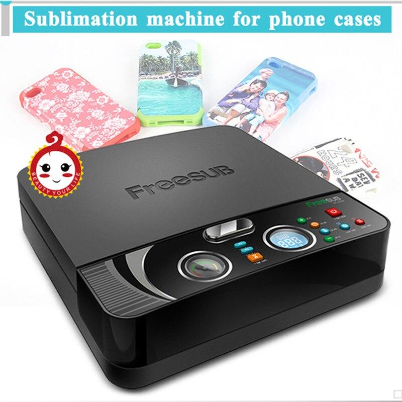 ST-2030 MINI 3D Sublimation Printer Heat Transfer Printing Machine 3D Vacuum Heat Press Machine For All Sublimation Phone Cases