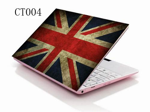 "Union Jack 15"" 15.6"" Laptop Skin Sticker Cover Decal For Toshibe Dell HP ASUS Acer Notebook"