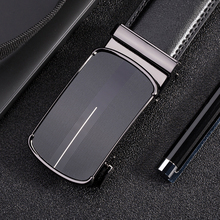 Mens Belts Black Automatic Buckle High Quality genuine leather male belts for men luxury strap designer Brand