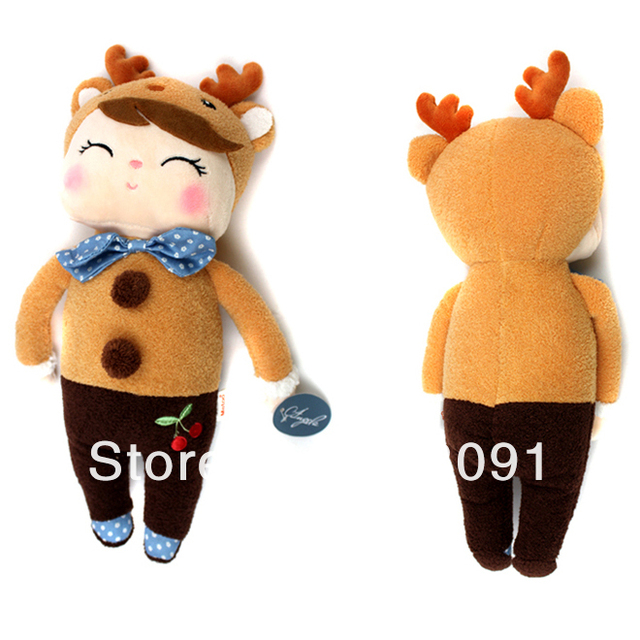 Metoo Stuffed Plush Toy Dolls for Baby Birthday Gifts,13'' and 21'',1PC