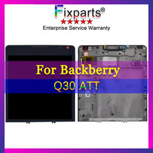 100% Tested Display For Blackberry Passport Q30 LCD Display Touch Screen Digitizer Assembly For BlackBerry Q30 ATT LCD Replace