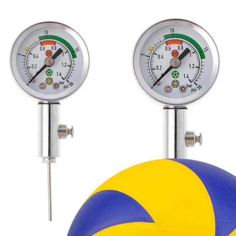 2019 Soccer Ball Pressure Gauge Air Watch Soccer Volleyball Basket Pointer Football Basketball Volleyball Pressure Device