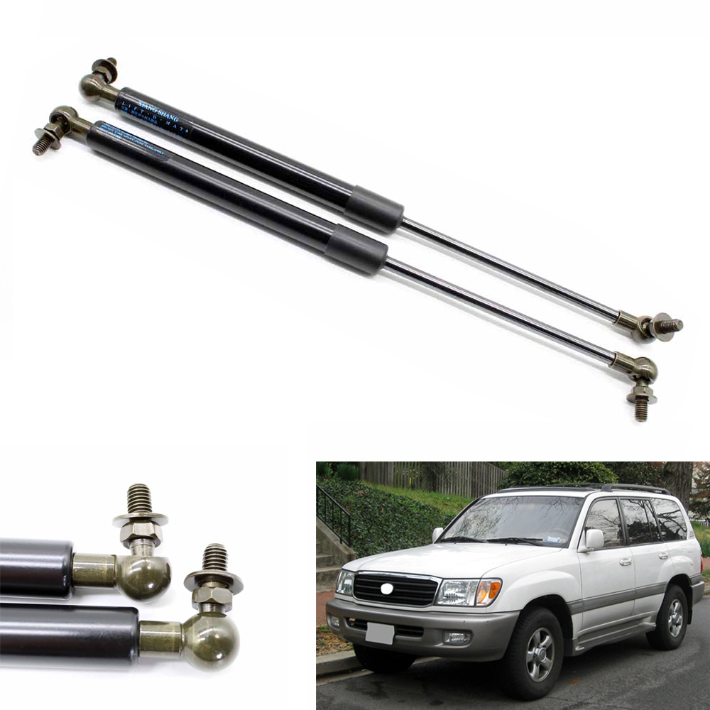 2pcs Auto Bonnet Hood Gas Struts Shock Struts Lift Supports for Toyota Landcruiser 100 for Lexus Land cruiser 1998-2007 440 mm
