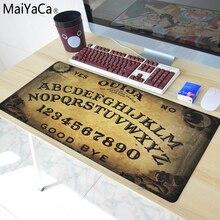 MaYaCa Ouija Board XL 900*400 Notbook Computer Mousepad Super Big Rubber Gaming Mouse Pads Mats