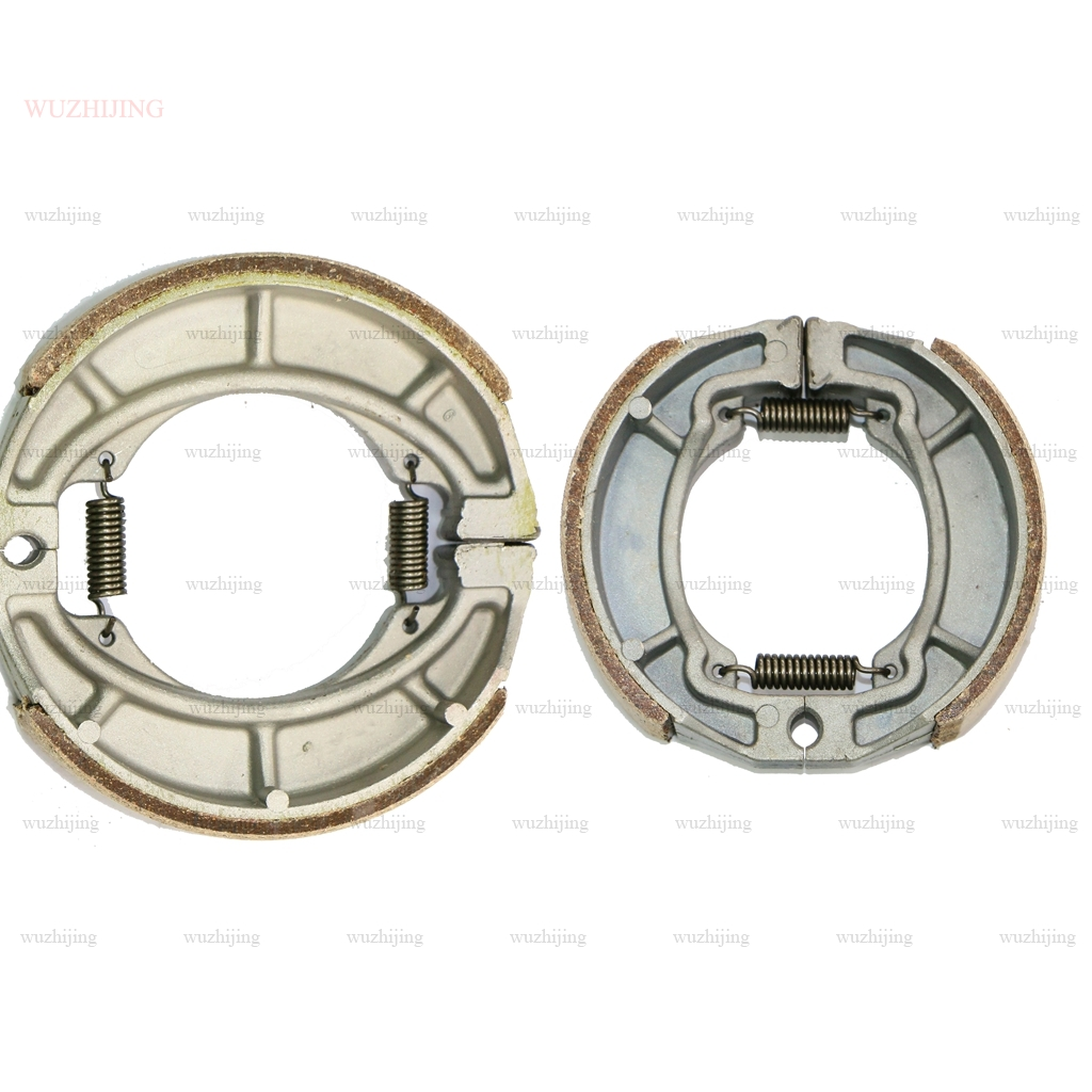 Brake Pad Shoe Drum fit SUZUKI RL 250 74-75 RM 100 76-78 RS 90 71-73 RV 125 73 TC 90 72 100 73-75 125 73 Front Rear(China)
