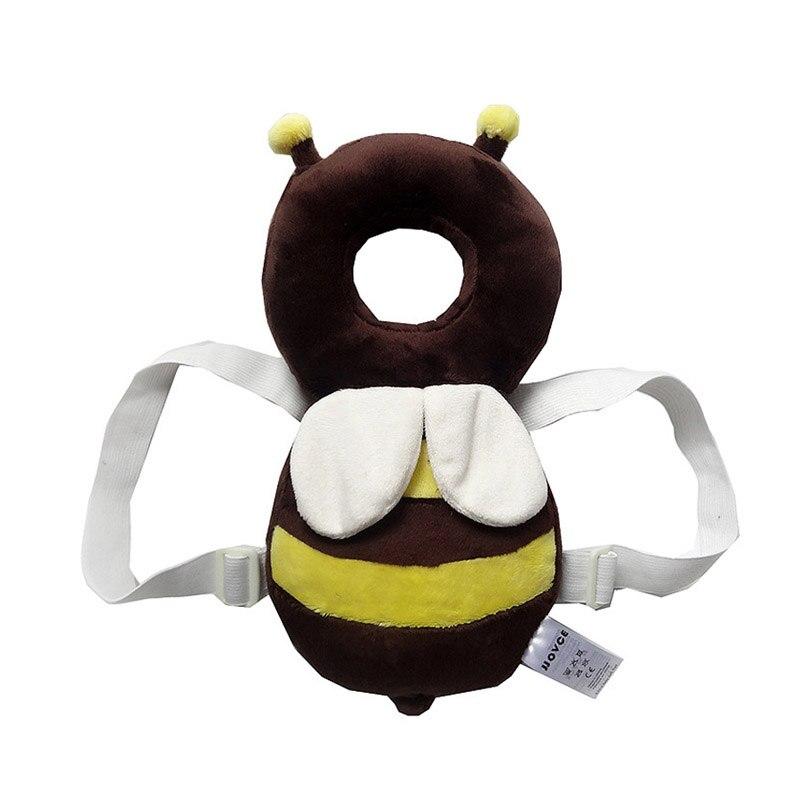 Защитавайте главата на бебето Меки играчки за деца Пълнени плюшени животни Пчела Coussin Enfant Забавни плюшени играчки многофункционални