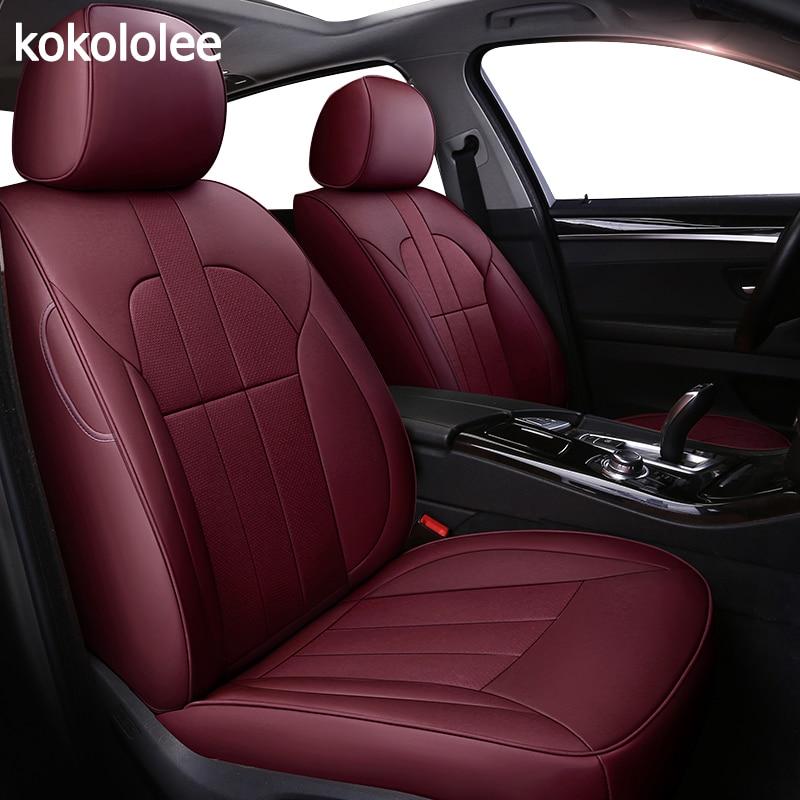 Kokololee Personalizzato in vera pelle copertura di sede dell'automobile per Lexus rx350 rx330 rx300 rx400h rx450h LS IS200d GX470 HS250h RX NX200t LC LX470