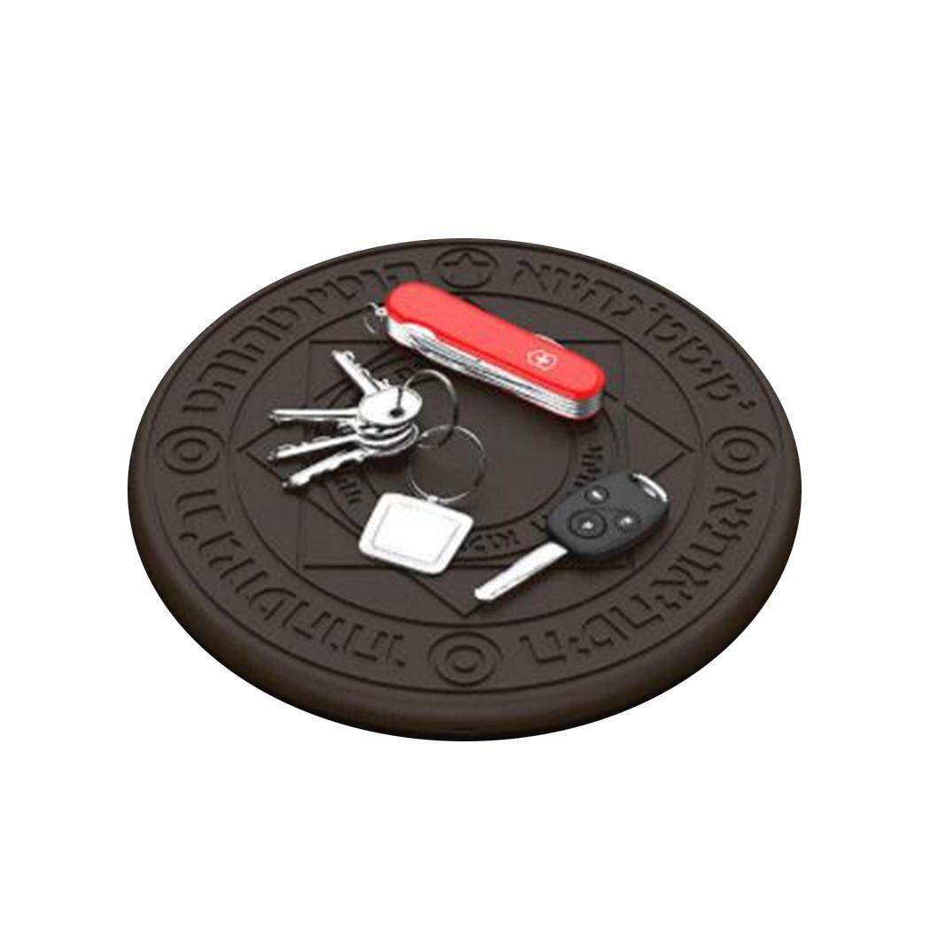 Ultra-mince rapide sans fil chargeur général sans fil charge 5.0 V/9.0 V type Pad café, rose type-c + Micro-USB