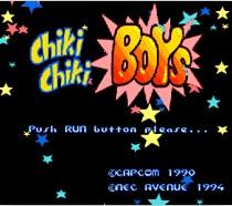 Chiki boys 16 bit MD Game Card For 16 bit Sega MegaDrive Genesis game console