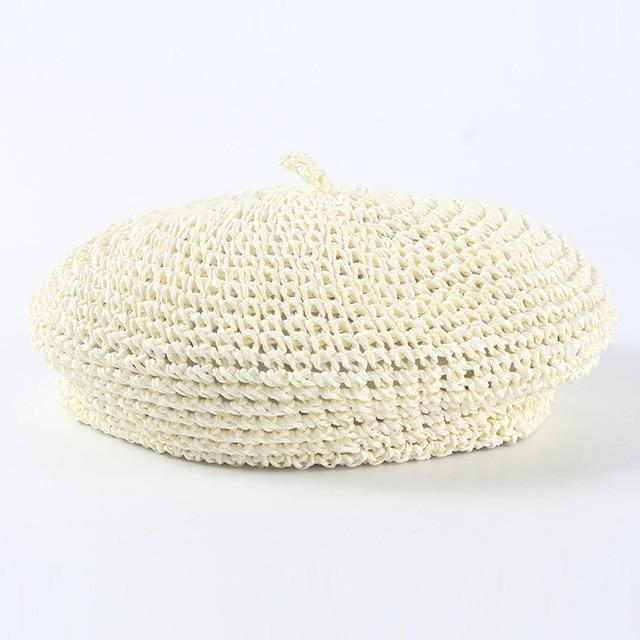 Women Berets Straw Hats...