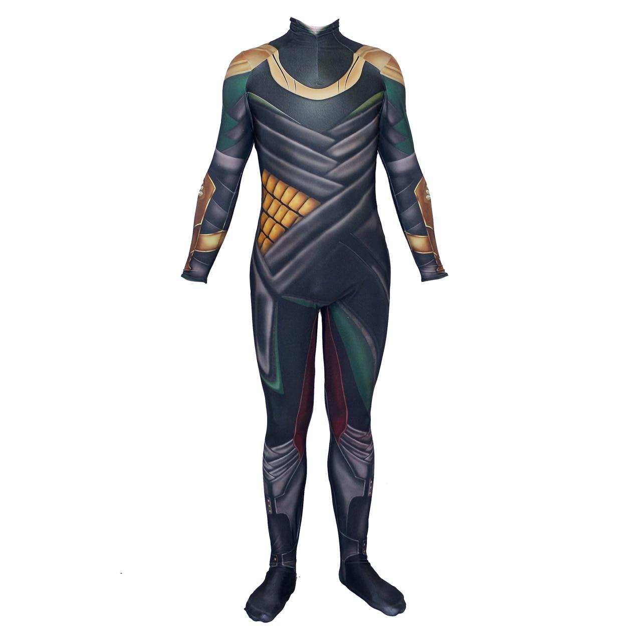 Thor The Dark World Loki Costume Whole Sets Cosplay Costume Halloween Party