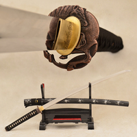 9260 wiosna steel japońskich samurai sword katana tsuba pełna tang koń nie-hi ostrze bardzo sharp może ciąć drzewa hurtownie