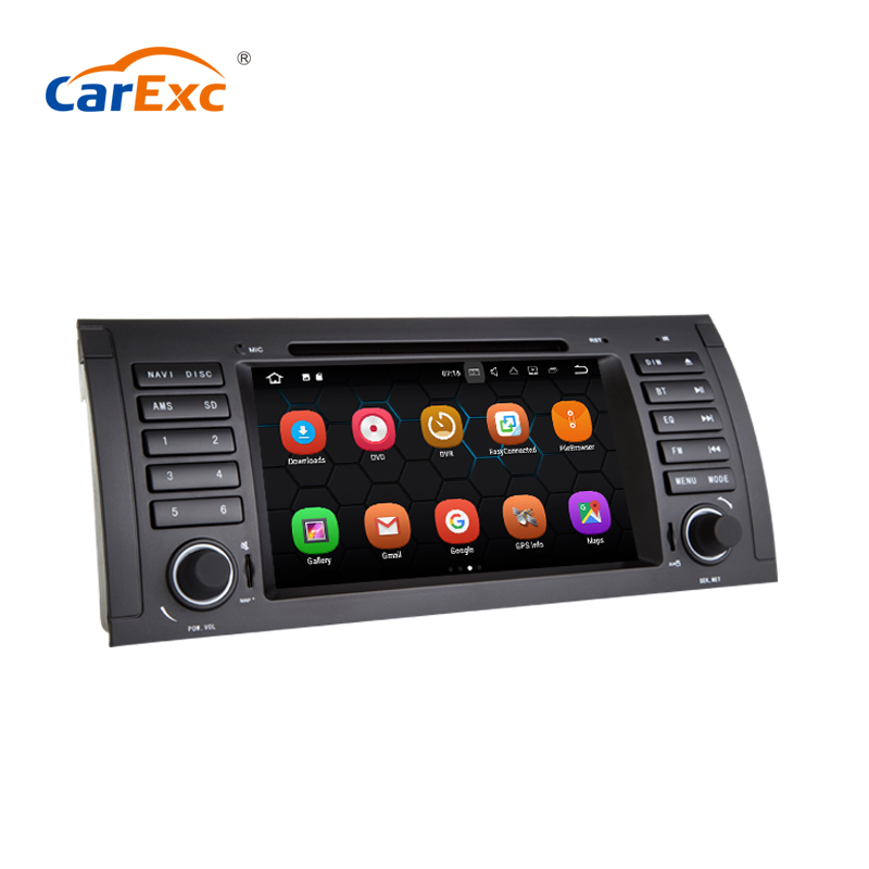 7 Inch Android 9.0 Quad Core GPS Multimedia Navigation For <font><b>BMW</b></font> old 5 Series E39 X5 M5 E53 <font><b>E38</b></font> 520i 525i 528i 530i <font><b>Radio</b></font> Player image