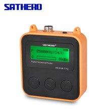 Sathero SH 110HD DVB T DVB T2 High Definition Finder Tragbare TV Signal Meter digitale finder meter