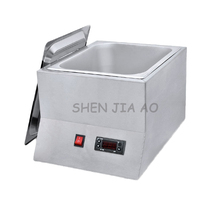 Single Cylinder Commercial Chocolate Melting Machine FY QK 620 Stainless Steel Chocolate Melting Pot 220V 250W