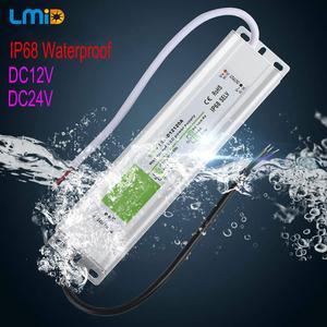 Image 2 - IP67 Waterproof LED Driver 50 60Hz 10W 30W 50W 60W 100W 120W 300W LED Power Supply AC90 265V Lighting Transformers For LED Power