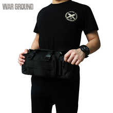 Molle military tactical pocket waterproof multifunctional shoulder bag casual sports outdoor fishing